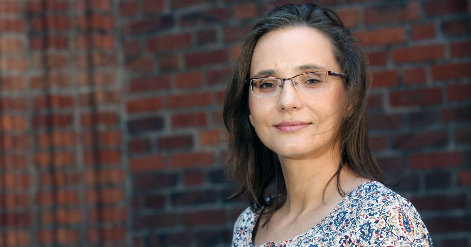 Dr hab. Anna Branach-Kallas, prof. UMK z Katedry Literatury, Kultury i Komparatystyki Anglojęzycznej